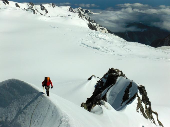 Baz - The Landy, Southern Alps, New Zealand